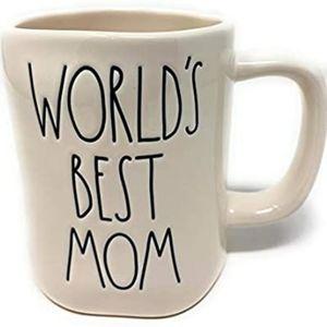 NEW Rae Dunn World's Best Mom mug